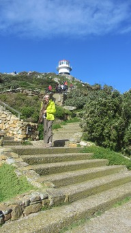 Lookout at Cape Point