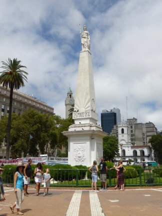 Plaza de Mayo, January 2015